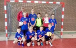 Więcej o: Chłopcy ze Szkoły Podstawowej w Zbiersku Mistrzami Powiatu Kaliskiego Ziemskiego w Piłce Nożnej Halowej