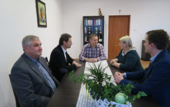 Więcej o: Wizyta delegacji z partnerskiej gminy Drebach
