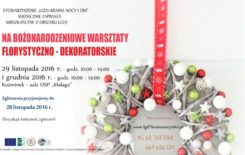"""Więcej o: Stowarzyszenie """"LGD7-Kraina Nocy i Dni"""" organizuje warsztaty florystyczno-dekoratorskie"""