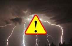 Więcej o: Ostrzeżenie meteorologiczne – burze z gradem