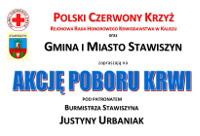 Więcej o: Akcja poboru krwi pod patronatem Burmistrza Stawiszyna Justyny Urbaniak 16 lipca 2017 r.
