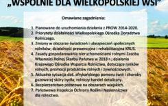 """Więcej o: Kurenda """"Wspólnie dla wielkopolskiej wsi"""""""