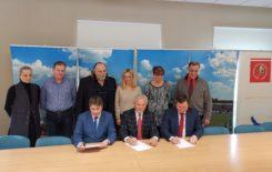 """Więcej o: Umowa na modernizację linii sortowania odpadów w ZUOK """"Orli Staw"""" podpisana"""