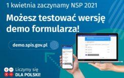 Więcej o: Już dziś można testować wersję demo formularza spisowego