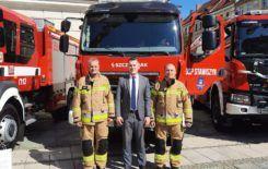 Więcej o: Przekazanie wozów strażackich