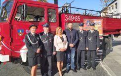 Więcej o: Uroczyste przekazanie wozu strażackiego do Mołdawii